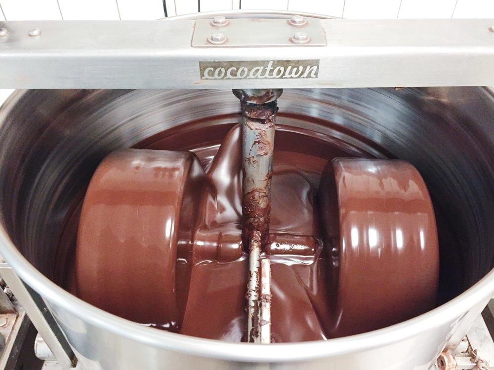 chocolate melangeur